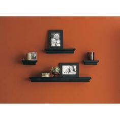 Target Floating Shelves New Threshold™ Traditional Shelf And Frame Set Of 6  Our House