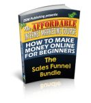 The Affordable Sales Funnel Mini #Course is an #Internetmarketing course that will show you how to create a sales funnel from scratch, even if you're a newbie.