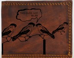 Hey Guys, check this funny wallet from Leder Gravur and get inspired for gift ideas.