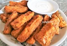 Onion Rings, Vegetable Recipes, Chicken Wings, Italian Recipes, Main Dishes, French Toast, Good Food, Easy Meals, Food And Drink