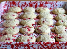 Strawberry and Cream Cookies - The Runaway Spoon