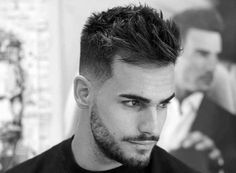 Dapper Mens Thick Short Hairstyles