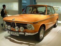 BMW 2002TI (touring internationale)   is very rare, as few of these cars still survive, it was successful in racing, Hans Stuck won the Nurburgring 24-hour race in 1970