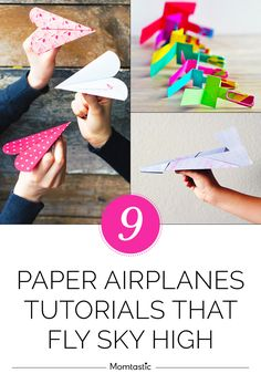 The boys have folded dozens of paper airplanes—some that flew far, and some that were total duds. Here is how to make paper airplanes (with instructions included) that successfully fly far and high. Get your little pilots' imaginations soaring, and check out the paper airplanes and tutorial