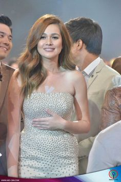 This is the pretty Bea Alonzo smiling for the camera after walking on the ASAP stage during the Parade of Star Magic Talents during Star Magic Day and Star Magic 23rd Anniversary on ASAP at ABS-CBN Studio 10 last July 26, 2015. Indeed, Bea is another of my favourite Kapamilyas and she's an amazing Star Magic talent. #BeaAlonzo #StarMagic23 #starmagic23rdanniversary #ASAP20 Magic Day, Star Magic, Bea Alonzo Hair, Art Of Beauty, Celebs, Celebrities, Fashion Models, Strapless Dress, Stage