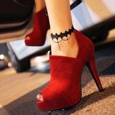 Handmade Black Lace Flower Chain Linked Tassel Ankle Anklet Foot Bracelet Lolita #Unbranded
