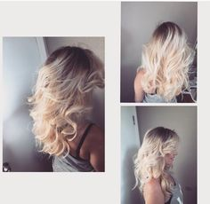 Beautiful blonde hair❤️
