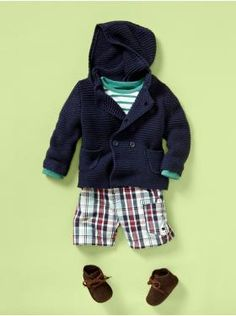 Not crazy about the shoes with this outfit. I'm pretty sure I just saw all of these items at baby gap!