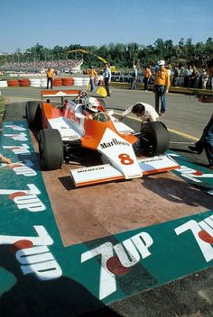 Andrea de Cesaris, Marlboro McLaren-Ford M29C, 1981 San Marino Grand Prix, Imola