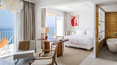 Hotel Les Roches Rouges is a hotel offering direct access to the sea, 2 swimming pools including a natural seawater pool, a Mediterranean garden and. Hotel Suites, Hotel Spa, Ludlow Hotel, French Riviera Style, Derelict House, Adventure Hotel, Rock Room, Beach Bungalows, Space Interiors