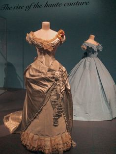 Sensory overload from my love of textiles and embellishments!!  @FITinNYC #ParisCapitalofFashion #MuseumatFIT #FashionExhibition #FashionExhibit #FashionHistory #DressHistory #BuyLess #AppreciateMore Sensory Overload, Fashion History, Exhibit, New Dress, Embellishments, Textiles, Nyc, Victorian, Paris