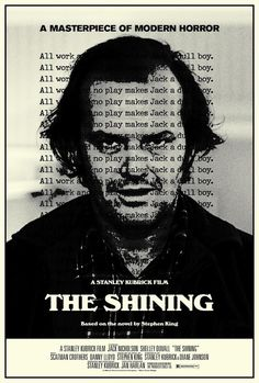 cos30:    The Shining -  Stanley Kubrick -Jack Nicholson, Shelley Duvall, 1980