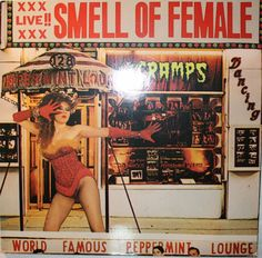 The Cramps – Smell Of Female first press 1983 Vinyl LP album BUY IT NOW #AmericanPunk #Punk #TheCramps