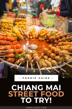 Open your senses to various Thai culinary delights with these top 10 Chiang Mai street food dishes that you should try in the night markets! // #Thailand #ThaiFood Thai Dishes, Food Dishes, Travel Pics, Travel Advice, Thailand Travel, Asia Travel, Weird Fruit, Food Business Ideas, Khao Soi