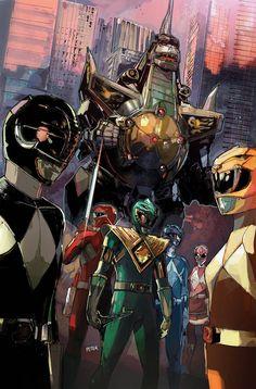 Mighty Morphin' Power Rangers #4 - Peter V Nguyen