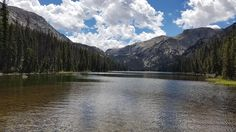 Was lucky enough to discover this beautiful fly fishing spot last weekend. Lake Geneva Big Horn Mountains Wyoming [OC] [2560x1440]