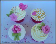 Cupcakes para un aniversario muy especial.