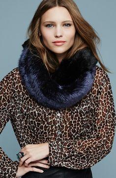 Dena Faux Fur Infinity Scarf | Nordstrom