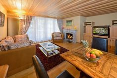 Kisseye Alpenrose (4 people) - Apartment - ZERMATT - Switzerland - 5110 CHF ###Alpenrose - 2 bedroom Apartment 3st floor  3 ½ bedroom apartment on the third floor. The interior decoration conists of exclusive antiques,  parquet and carpetfloors:  2 double bedrooms  1 bathroo