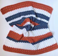 Riley Easy Crochet Baby Blanket Quick Crochet, Crochet For Boys, Basic Crochet Stitches, Crochet Hook Sizes, Crochet Basics, Crochet Baby Blanket Free Pattern, Baby Afghan Crochet, Crochet Patterns, Baby Afghans