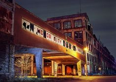 Packard Plant Detroit The largest abandoned factory in the world, vacant since 1956
