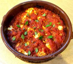 Forking Foodie: Baked Feta in a Tomato and Oregano Sauce (with Thermomix instructions)