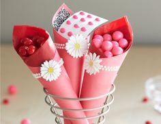 Cute for the snack table.