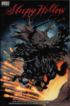Sleepy Hollow (2000) - cover by Kelley Jones