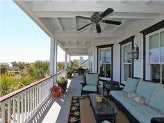 outdoor coffered ceiling , Sullivans Island, SC 29482