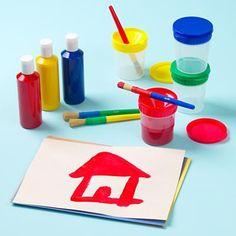 kids paint supplies