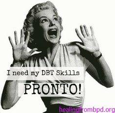 I don't feel like it! | Using DBT Skills (Even when you don't feel like it)