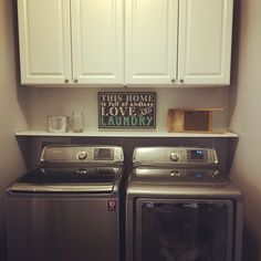 Small laundry room m