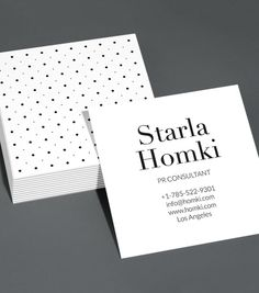 Browse our selection of business cards design templates. Be inspired with our fully customizable design templates. MOO US. Square Business Cards, Business Card Design, Visiting Card Templates, Dots, Branding, Graphic Design, Design Templates, France, Image