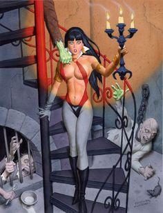 Vampirella  Fastner & Larson (Steve Fastner & Rich Larson)  http://www.fastnerandlarson.com