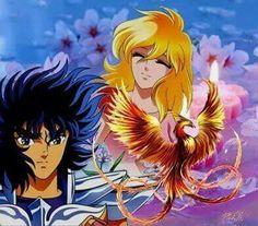 Ikki (Fénix) y Esmeralda || Caballeros del zodiaco