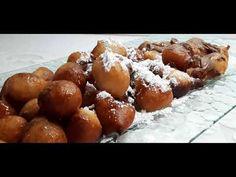 Λουκουμάδες του ονείρου, με μόνο 2 υλικά!!! Dream donuts, with only 2 in... Pretzel Bites, Food And Drink, Bread, Desserts, Youtube, Food Ideas, Tailgate Desserts, Deserts, Brot