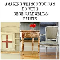 Best CeCe Caldwell's projects.  Surprising ways you can use CeCe Caldwell's, you can paint leather, vinyl, glass, etc.  REDOUXINTERIORS.COM FACEBOOK REDOUX #redouxinteriors #cececaldwellspaints