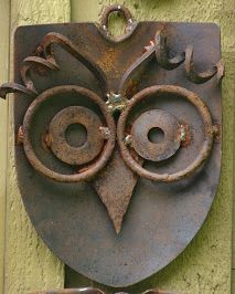 Metal Outdoor DIY Projects and Landscape Ideas Rusted Metal DIY Projects for your home and yard. Water features, garden beds and other fun rusted metal accents for your yard. MoreRusted Metal D. Welding Art Projects, Metal Art Projects, Metal Crafts, Diy Projects, Welding Crafts, Project Ideas, Outdoor Projects, Metal Yard Art, Scrap Metal Art