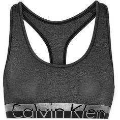 a219f61d25a26 Calvin Klein Underwear Magnetic Force stretch-jersey sports bra ( 45) ❤  liked on