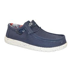 HEY DUDE Wally Stretch Men | Blue (10382600)