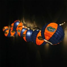 Florida Gators Team Lanterns & Lights Set