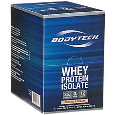 Buy Whey Protein Isolate - Cookies & Cream (12 Packets) from the Vitamin Shoppe. Where you can buy Whey Protein Isolate - Cookies & Cream and other products? Buy at at a discount price at the Vitamin Shoppe online store. Order today and get free shipping on Whey Protein Isolate - Cookies & Cream (UPC:766536001309)(with orders over $35).
