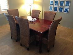 OWN's Home Made Simple refreshes a Dining Room with Malted Tawny Oak laminate floors by Quick-Step.