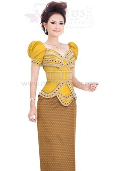 Mode Batik, Khmer Wedding, Suzy, Traditional Dresses, Cambodia, Bodycon Dress, Costumes, Fashion, Cha Cha