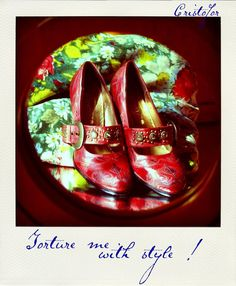polaroid, shoes. Copyright ©Cristofor Arts/Cristina Schek
