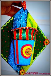 It's all about creativity,diy projects, Best out of waste and a never ending imagination. Imagination, Creativity, Diy Projects, Christmas Ornaments, Holiday Decor, Wall, Home Decor, Decoration Home, Room Decor