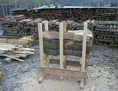 Holzsägebock bohren,Schrauben,Holzbearbeitung,Holz,Akku-Schrauber