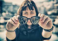 Ας φωτογραφίσω κι εγώ μια φορά τον εαυτό μου.  #glasses #sunglasses #summeriscoming #sunnydays #girl #mygirl #bokeh #canonphotography #canongreece #newglasses #yolo