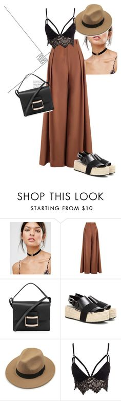 """<3"" by olqi ❤ liked on Polyvore featuring DesignB London, Zimmermann, Roger Vivier, Balenciaga, Club L, outfit and women"