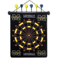U of Michigan game room: dart board